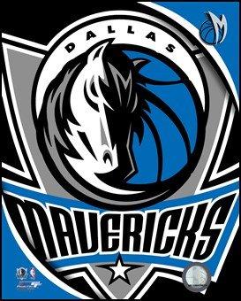 Dallas Mavericks Team Logo Art Poster PRINT Unknown 8x10