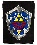 Nintendo Zelda Shield Throw Blanket