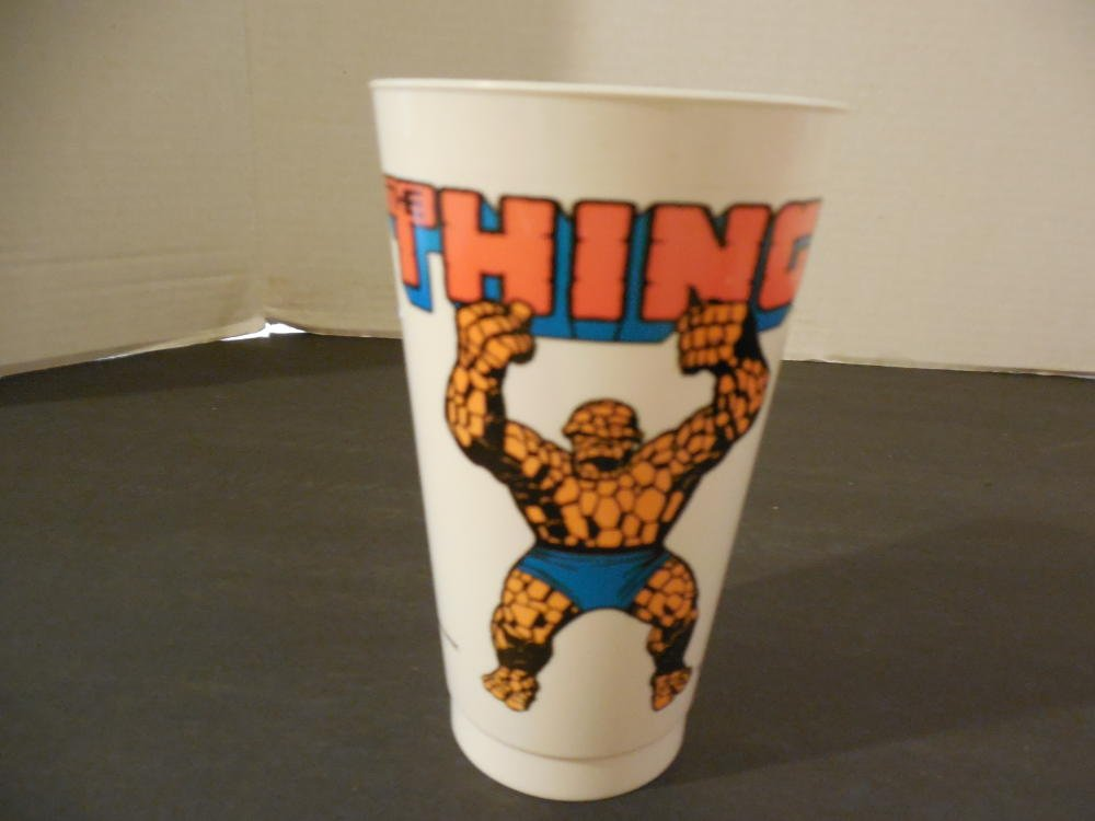 Vintage 1975 The Thing Marvel Comics 7-11 Slurpee Cup
