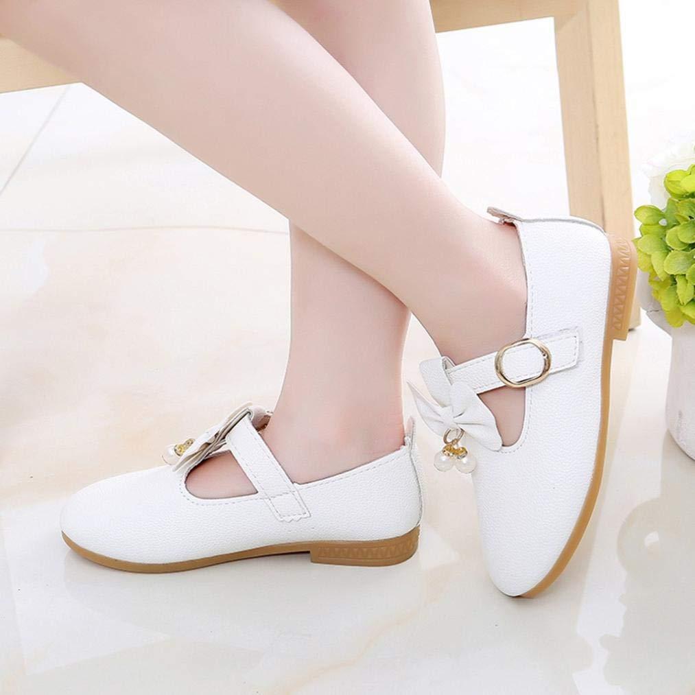 15ca2864372f Zapatos de Cuero para Niñas Otoño Invierno 2018 Moda PAOLIAN Zapatos de  Vestir Princesa Boda Calzado Ampliar imagen