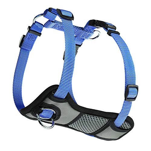 JESPET Dog Harness No Pull with Adjustable Straps for Behavior Training and Easy Walking, Dog Vest Walking Harness for Puppy and Small, Medium, Large Dogs ()