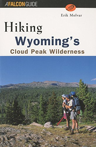 Hiking Wyoming's Cloud Peak Wilderness (Regional Hiking Series) (Cloud Peak Wilderness Map compare prices)