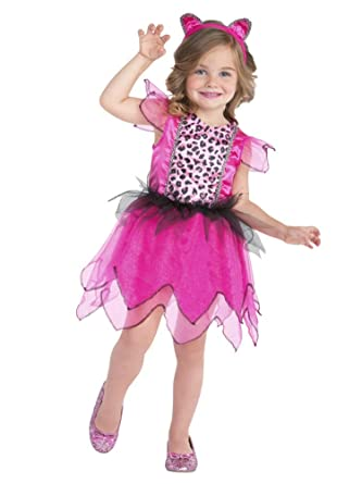 ac82b48b18ac Palamon Toddler Girls Little Leopard Costume with Animal Print Dress &  Headband 2T