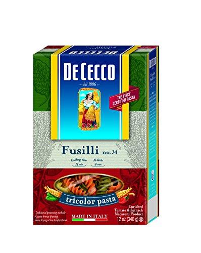 Cecco Pasta Fusilli Tricolor Ounce