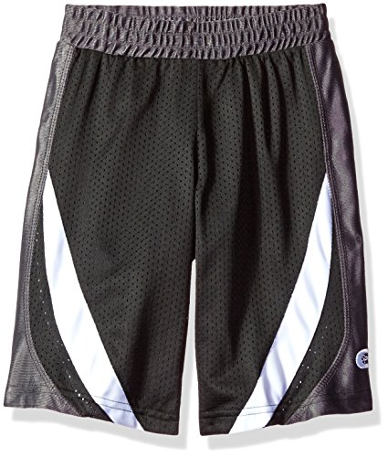 Open Hole Mesh Short - CB Sports Boys' Little Open Hole Mesh Athletic Short, White, 5/6