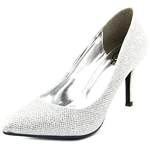 1.4.3. Girl Womens Owanda Pointed Toe Classic Pumps Silver