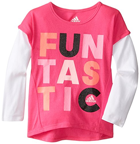 Adidas Girls Sleeve Graphic Shirt
