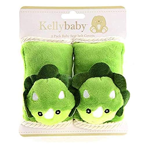 - UPD Dino Baby Seat Belt Cover with Corduroy Trim 2 pcs