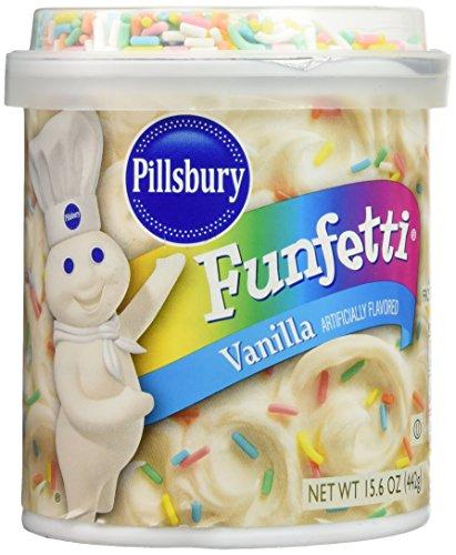 (Pillsbury Vanilla Funfetti Frosting Mix 15.6 oz)