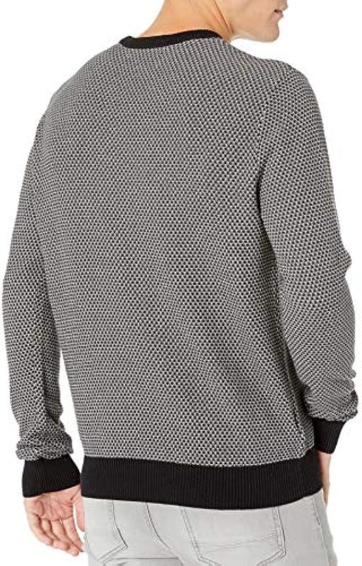 Oryginalny męski sweter Penguin Long Sleeve Patterned Sweater: Odzież