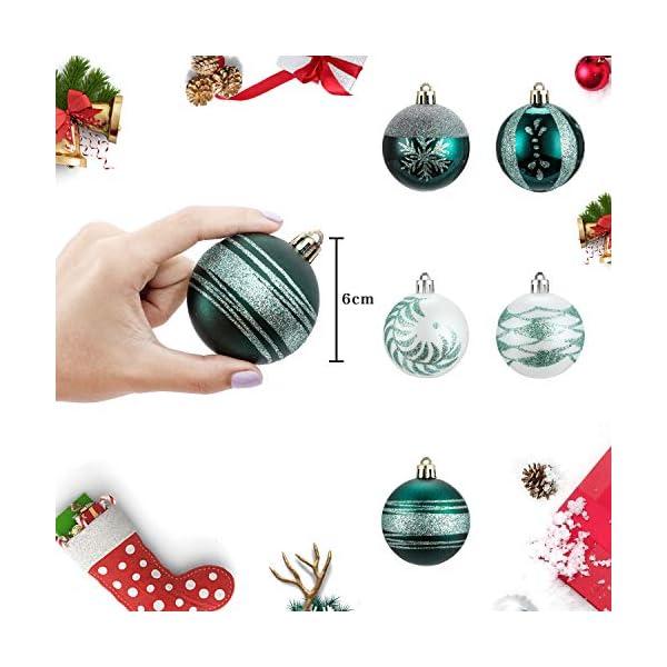 LessMo Palle di Natale2 (Verde) 4 spesavip