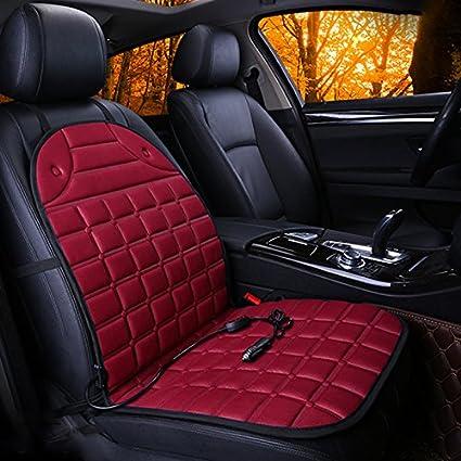 Sedeta® nero copertura di sede dell'automobile di riscaldamento Griglia sedia cuscino termico protezione pad alimentare per comandare i quattro stagioni interna delle forniture