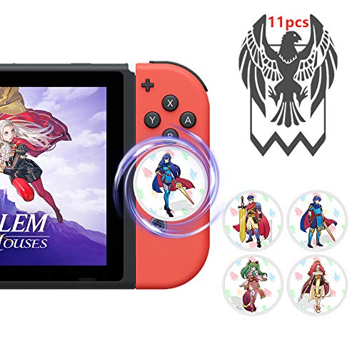 Fire Emblem Three Houses NFC Tags Game Cards,3 Houses Game Items Cards (11pcs) (Amiibo Fire Emblem Alm & Celica 2 Pack)