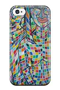 TYH - Best 2843996K43595960 High-quality Durable Protection Case For Iphone 5c(african Art) phone case
