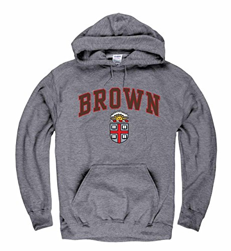 Campus Colors Brown Bears Arch & Logo Gameday Hooded Sweatshirt - Sport Gray