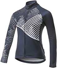 CATENA Women's Cycling Jersey Thermal Shirt Top Autumn and Winter Long Sleeve Bicycle Ja