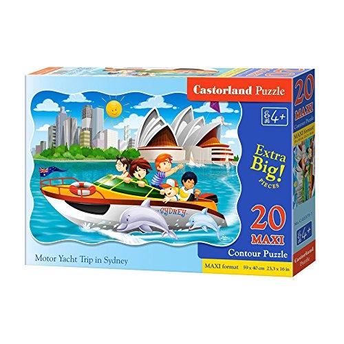 Castorland Maxi Puzzle Motor Yacht Trip in Sydney 20 Pieces CJDKD C-02375-1