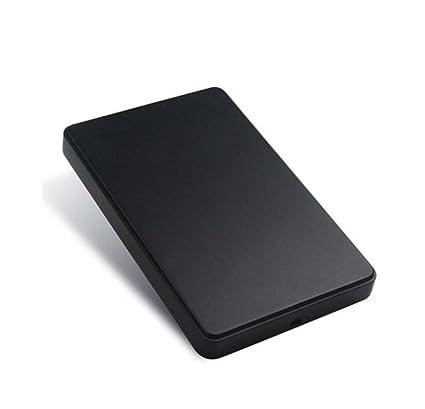 STRIR Caja con USB 2.0 para Disco Duro Externo HDD de 2.5 Carcasa para SATA I SATA II SATA III HDD y SSD de 9,5 mm 7 mm 2.5 pulgadas, Optimizado ...