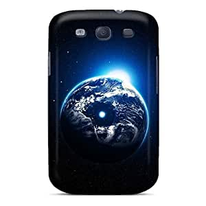 Durable Defender Case For Galaxy S3 Tpu Cover(world Outside)