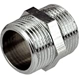 "1/2"" INCH THREAD PIPE CONNECTION MALE x MALE SCREWED NIPPLE"
