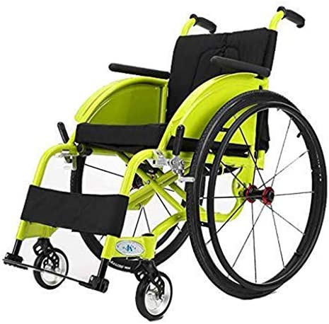 KILLM Freizeit Leichte Sport Manuell Rollstuhl 24-Zoll-Räder Rollstuhl