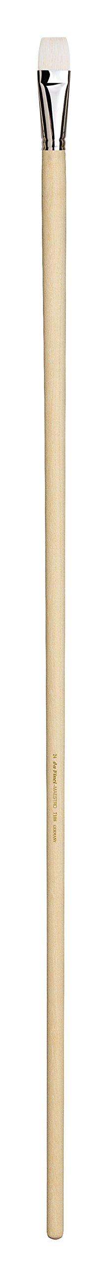 da Vinci Mural Series 7108 Maestro Paint Brush, Bright Hand-Interlocked Hog Bristle with 1-Meter Handle, Size 24