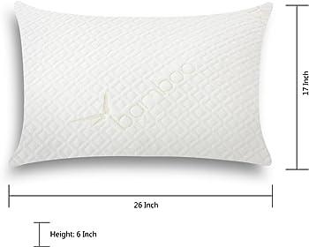 Langria Hypoallergenic Memory Foam Queen Pillow