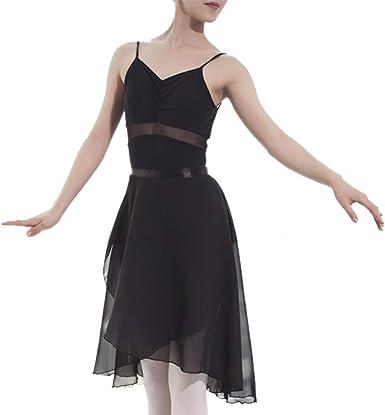 GoGo Team adulto Sheer Wrap falda de ballet falda de ballet ...