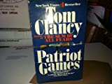 (3 Book Box Set) Patriot Games, the Cardinal of the Kremlin & Red Storm Rising Paperback By Tom Clancy