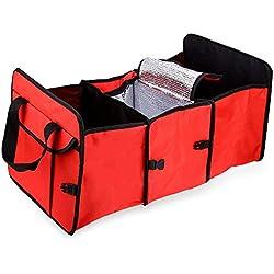 Folding Car Storage Trunk Organizer Bag Collapse Grocery Basket Bag