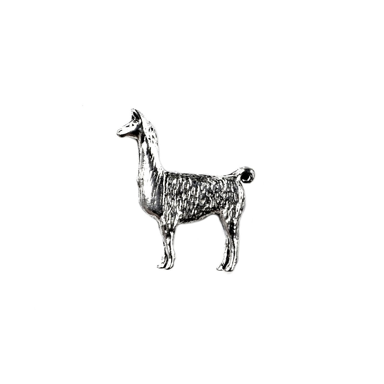 Quality Handcrafts Guaranteed Llama Lapel Pin