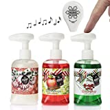 Soap Soundz dispenses soap and sounds with a press of the pump, giving guests a fun surprise, while kids want to wash their hands more than ever. Choose Halloween or Christmas themed!