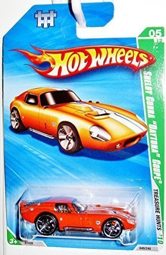 (Hot Wheels Shelby Cobra Daytona Coupe 05/12 Treasure Hunts 2010 049/240)