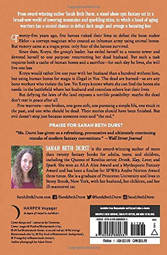 The Bone Maker by Sarah Beth Durst science fiction and fantasy book and audiobook reviews