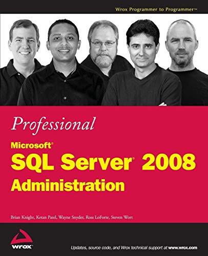 Professional Microsoft SQL Server 2008 Administration (Best Sql Server Monitoring Tools)