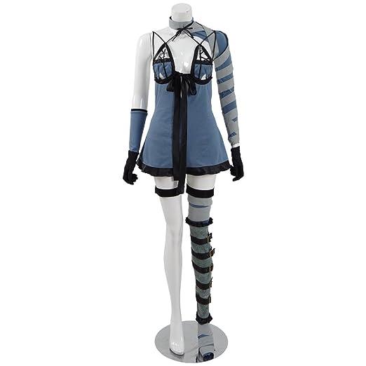 Amazon.com: Caliente Juego 2B vestido Cosplay traje de ...