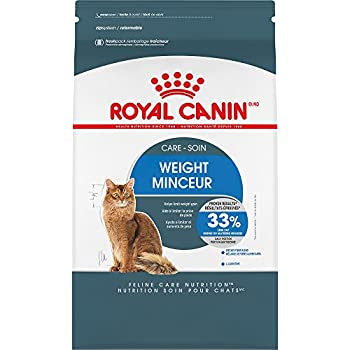 Royal Canin Feline Care Nutrition Weight Care Adult Dry Cat Food , 3 Lb