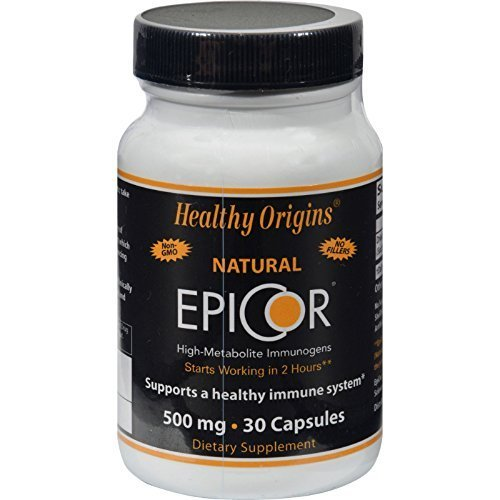 Healthy Origins Epicor 500mg 30 Cap 1-Ea Review
