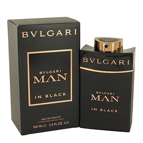 Bvlgari 4 Piece Man In Black Eau de Parfum Spray Gift Set for Men
