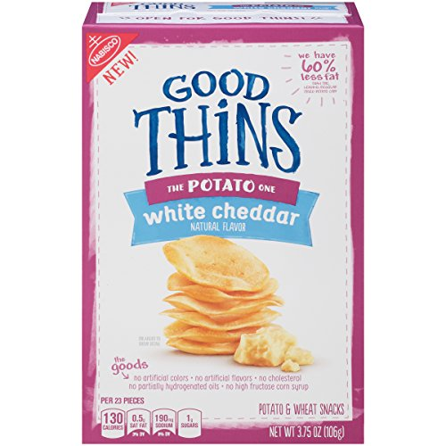 Good Thins: The Potato One – White Cheddar Crackers, 3.75 Ounce, (Pack of 6) Review