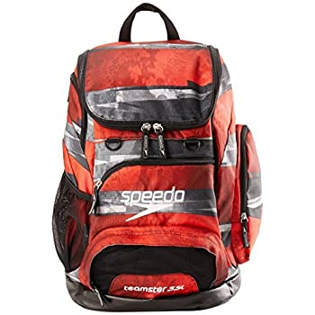 Speedo Teamster Backpack 35L Setting Sun Red