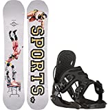 snowboard 155 package - Rome Artifact Rocker Midwide 155cm (MW) Mens Snowboard + Flow Alpha Bindings - Fits US Mens Boots Sized: 11,12,13