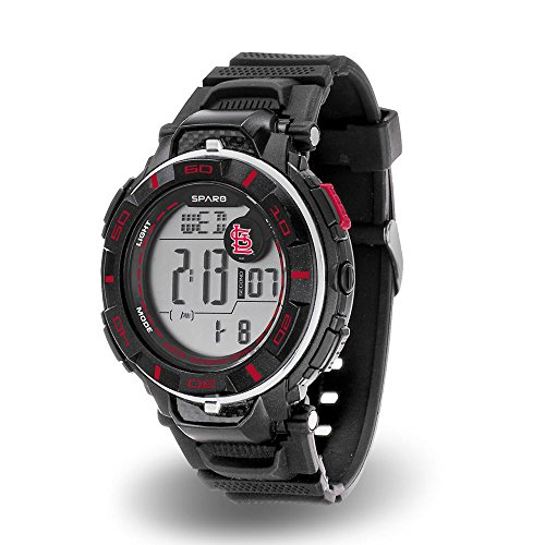 Rico MLB St. Louis Cardinals Men's Sparo Power Digital - Cardinal Watch Digital