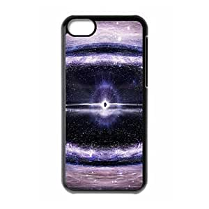 iPhone 5C Case,Supernova Abstract Space Hard Shell Back Case for Black iPhone 5C Okaycosama369864