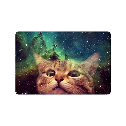 Custom Space Cat Doormat Entrance Mat Floor Mat Rug for sale  Delivered anywhere in Canada