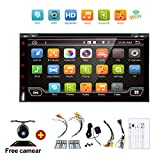 Navigation Seller - 2 Din Android 6.0 Quad-Core 7inch Full-Touch Car PC Tablet double 2din Audio GPS Navigation Car Stereo Radio With DVD mp3 Player Bluetooth wifi mirror link DAB