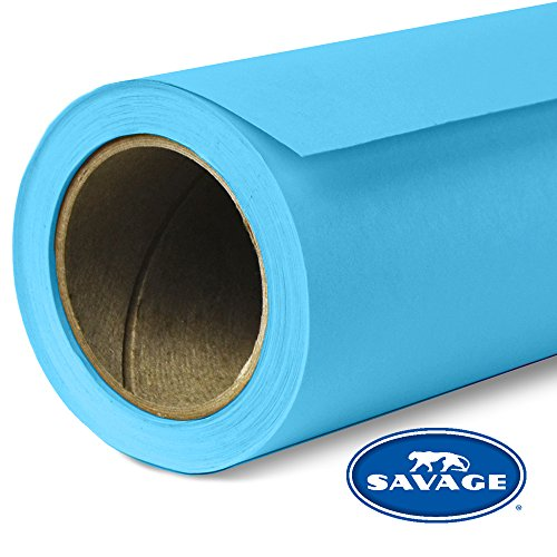(Savage Seamless Background Paper - #36 Ocean Blue (53 in x 36 ft) )