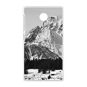 Snow Mountains White Phone Case for Nokia Lumia X
