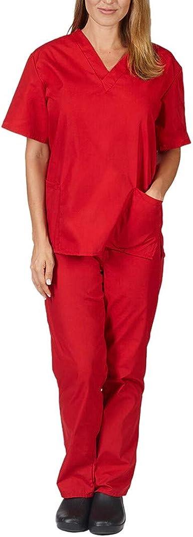 BOBOLover Conjunto De Trabajo De EnfermeríA con Pantalones Cortos ...
