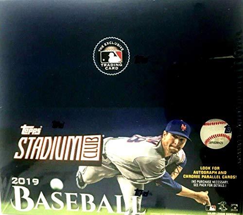 2019 Topps Stadium Club MLB Baseball RETAIL box (24 pks/bx)